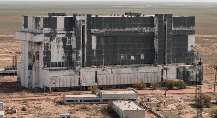 Abandoned Russian Hangar