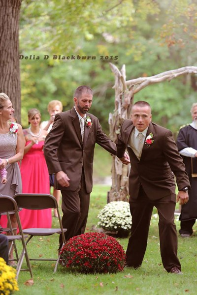 Father at Wedding