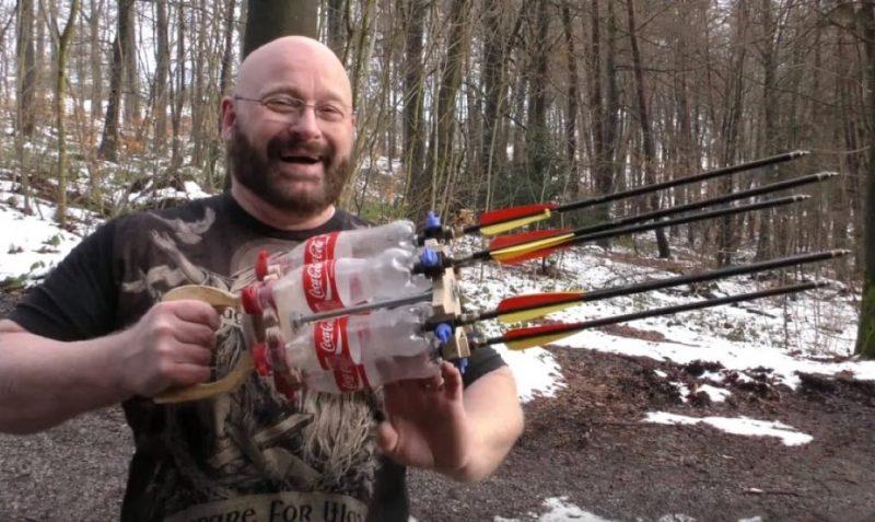 Coke Gatling gun