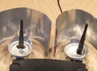 Beer Can WiFi Booster