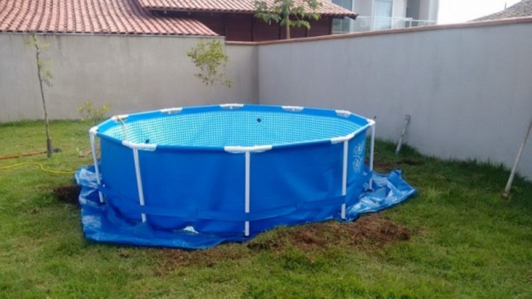 Homemade Pool