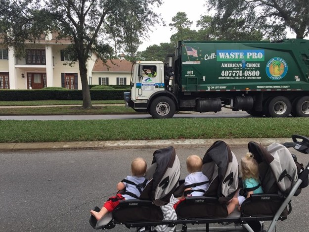 Garbage men triplets 2