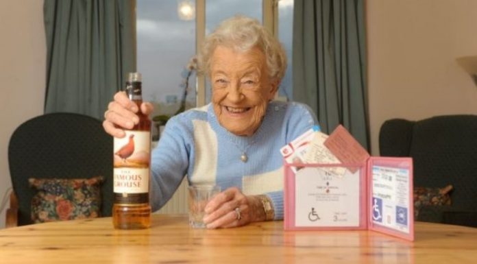 Old Lady Refused Alcohol