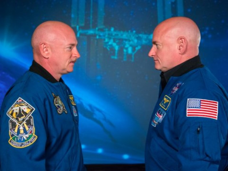 NASA Astronaut Twins