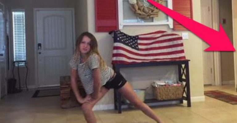 Cowboy Dad Catches His Daughter Dancing – Check Out His Reaction!