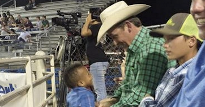 "Mom Writes Touching Letter to ""Stranger Next To Us At The Rodeo."" The Next Day, She Discovers Who He Is…"