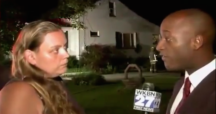 Woman Solves Arson Case Live On TV!