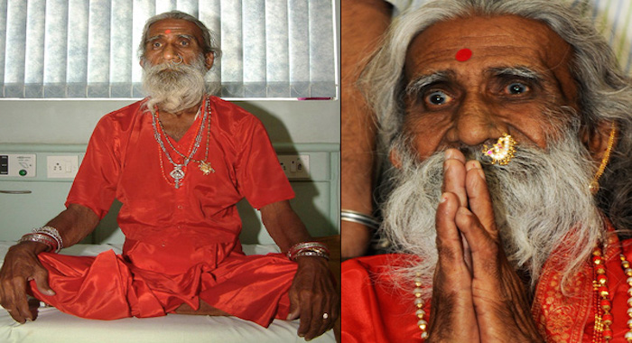 Indian Holy Man Claims To Have Gone Without Food And Water For 75 Years. Confirmed By Doctors!