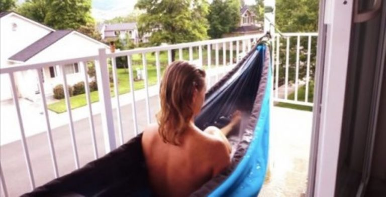 The Hammock That's Also a Hot Tub… You're Going To Want One Of These!