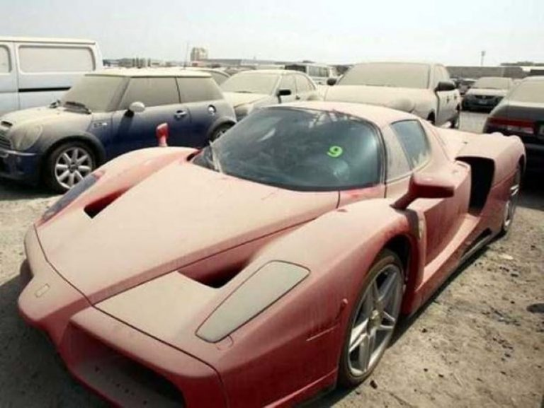 This Parking Lot Has Over 3,000 Abandoned Luxury Cars In It… The Reason Why Might Surprise You!