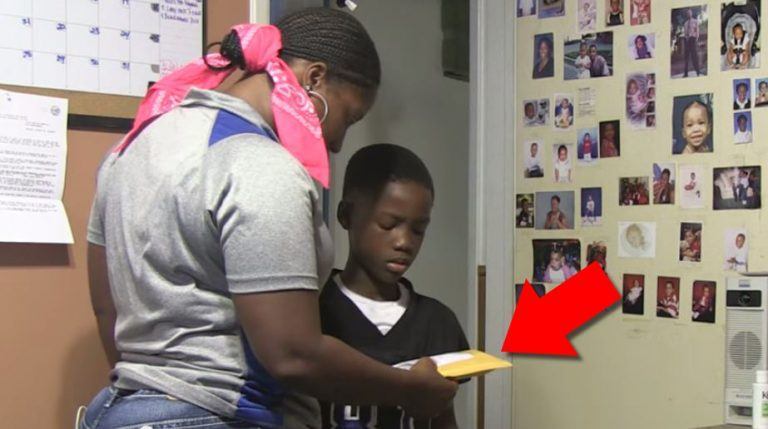 This Son Is Accused Of Ordering Package With His Mom's Credit Card. Watch His Reaction