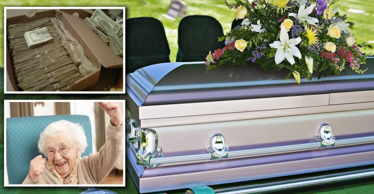 Husband Orders Wife To Bury Him With All Of His Money. Instead, She Did This!