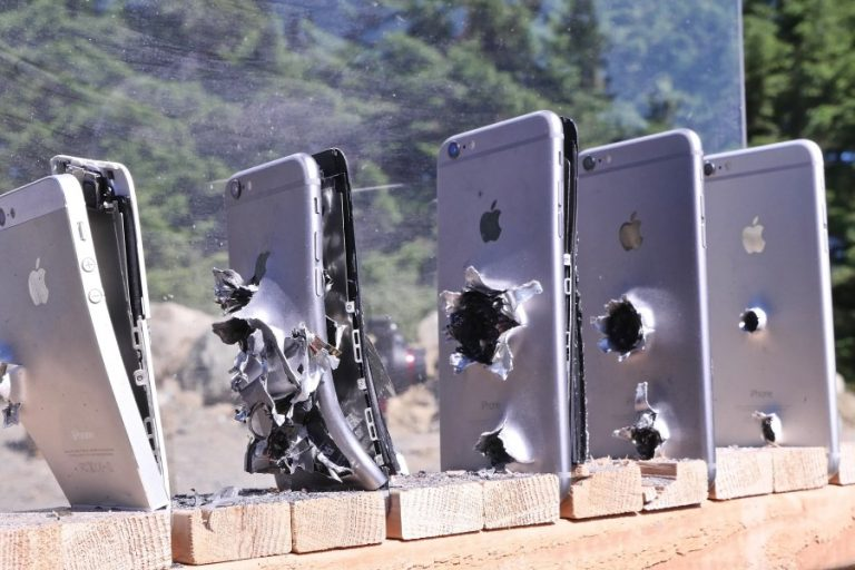 Find Out How Many iPhones It Takes To Stop a Bullet From An AK-74!