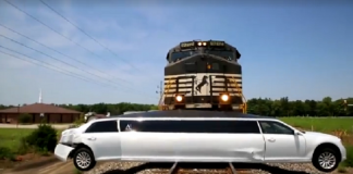 Train Wreck Limo