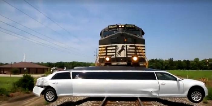 Train Wreck Limo