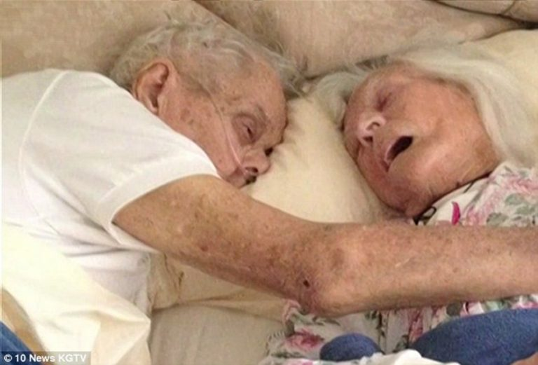 Last Embrace Of Couple Married For 75 Years Who Died Just 24 Hours Apart
