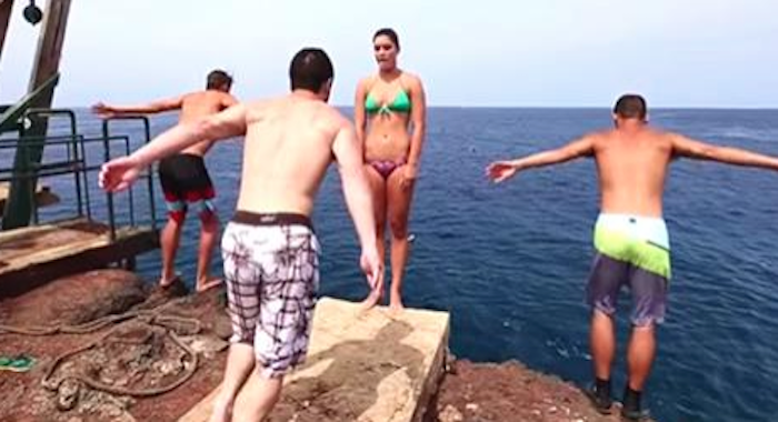 I Thought He Was About To Shove Her Into The Ocean. What Happens Next? Wow!