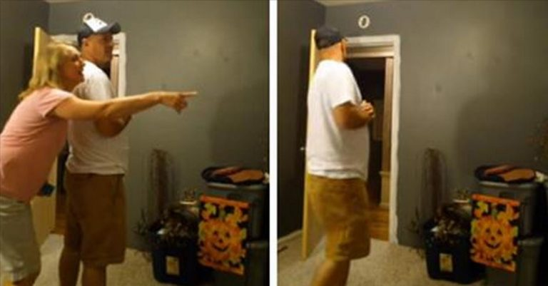 He's Just Found Out His Daughter's Pregnant. See What He Does When He Thinks Nobody's Looking
