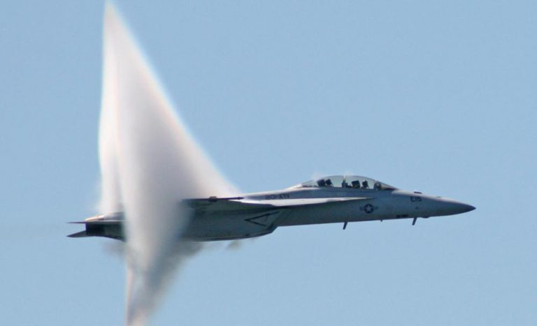 Sonic BOOM! Watch What Happens When These Jet Fighters Break The Sound Barrier!