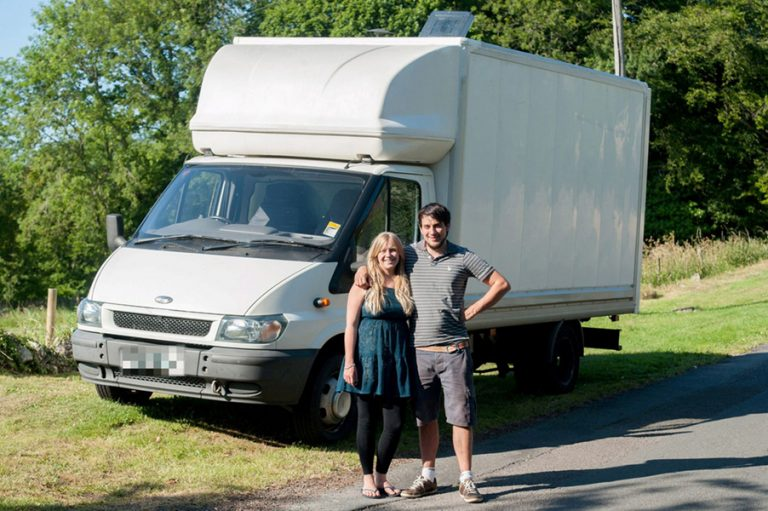 This Couple Convert An Old Van Into A Home And It's Amazing!