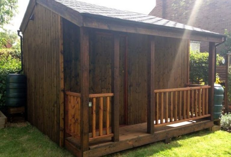 Man Turns Humble Shed Into The Coolest Home Cinema EVER!