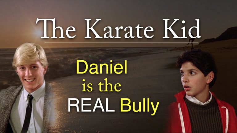 Proof That Johnny Wasn't The Bully In 'The Karate Kid' – It Was Daniel…