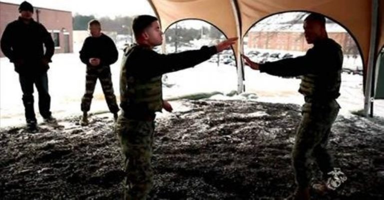 UFC Fighters Vs Marines – Someone's Getting Taught a Lesson!