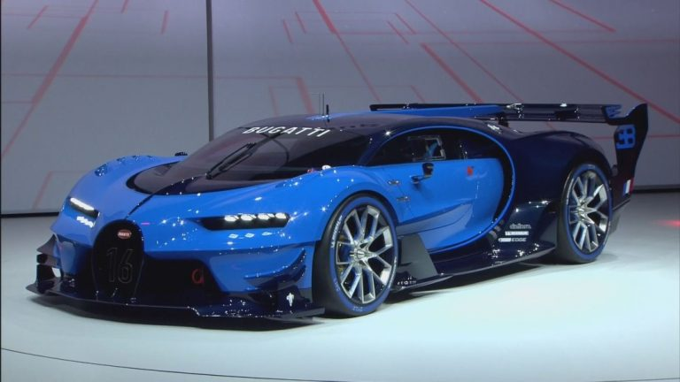 The New Bugatti Vision Gran Turismo Debuts… And It's AWESOME!