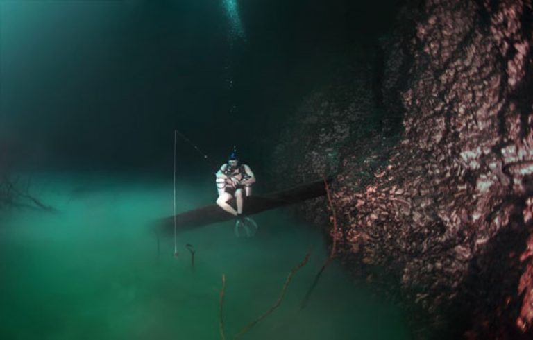 He Dove 200 Feet Down Into An Underwater Cave And Discovered Something BEAUTIFUL!