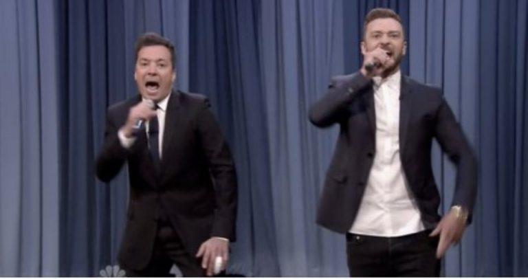 Jimmy Fallon And Justin Timberlake Present 'The History of Rap' And It's EPIC!