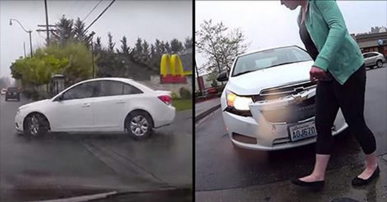 Woman Totals Guy's Car And Then Blames HIM For The Accident