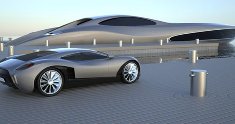 The Strand Craft SC 122 Super Yacht Comes With Its Own 'FREE' Supercar!