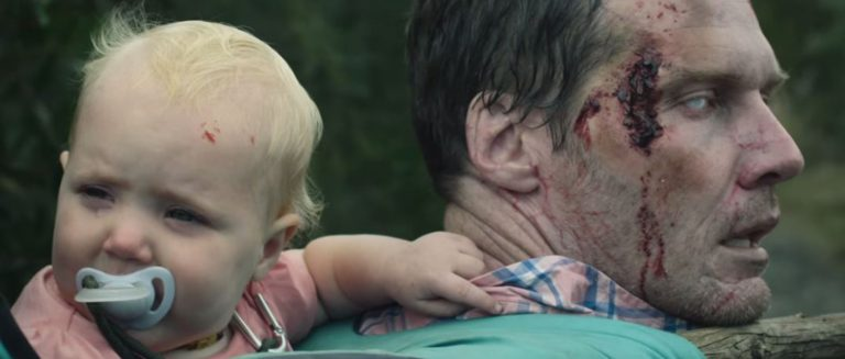 In A Zombie Apocalypse, This Determined Dad Stops At Nothing To Protect His Precious Cargo