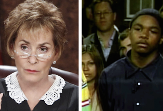 Judge Judy Dumb Criminal