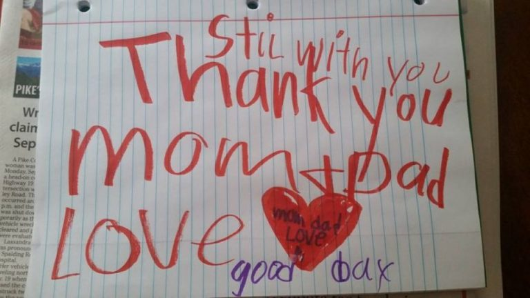 6 Year-Old Boy Who Died Of Brain Infection Left Parents Heart-Breaking Note