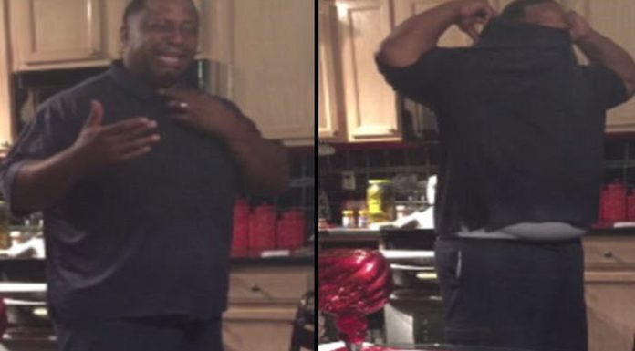 man cries after finding out his wife is pregnant