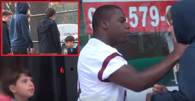 When He Sees a Kid In Trouble This Guy Makes Sure The Bully Gets What's Coming…