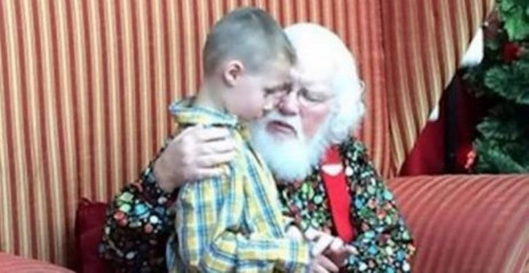 This Boy With Autism Tells Santa His Secret… His Reply? Totally Unexpected!