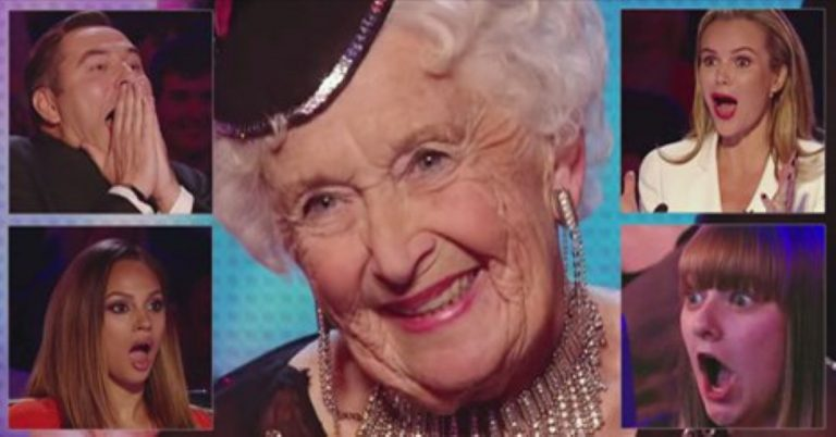 They All Laughed At This 80 Year-Old Dancer Until She Did Something BRILLIANT!