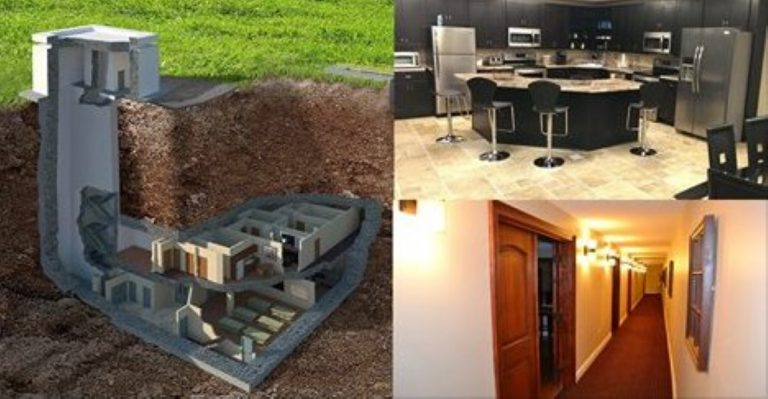 This Underground Bunker Can Withstand Nuclear Apocalypse In Unbelievable Luxury!