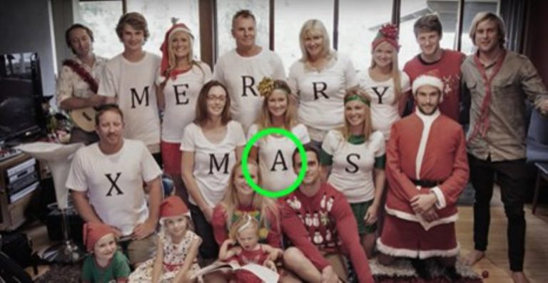 There's A SECRET Special Message Here… Just Watch The Girl In The 'A' Shirt!