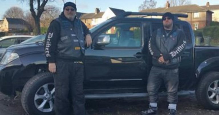 Biker Gangs Patrol Flood-Ruined UK Towns Scaring Off Looters