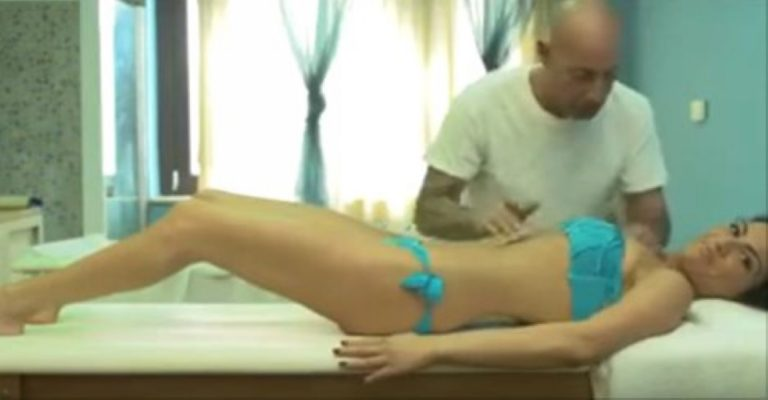 He's About To Give Her A Massage… But What He ACTUALLY Does To Her? WHOA…