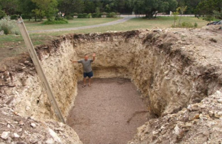 His Neighbors Were Annoyed He Dug This Huge Hole… But Soon? They're All Jealous!