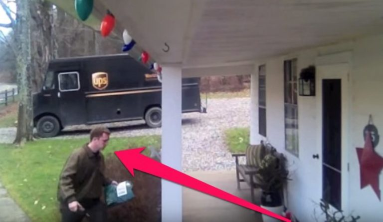 They Installed A Camera Without This UPS Driver Knowing… Watch What They See Him Do!