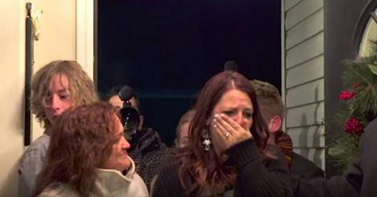 Her Husband Passed Away Last Year. Something AMAZING Happens When She Walks Through The Door …