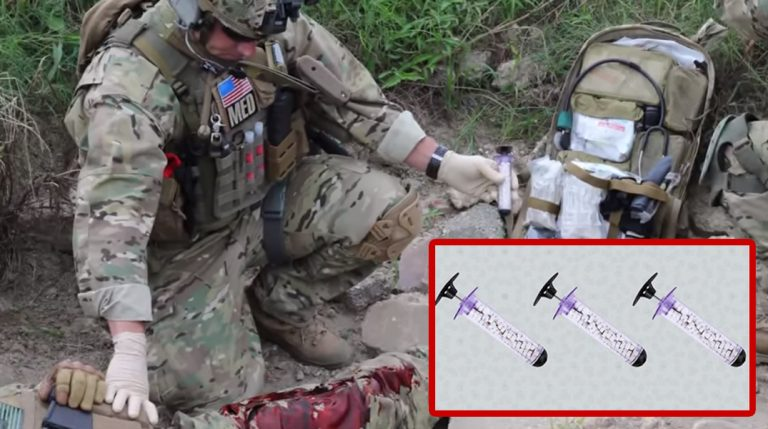 Genius New Device Seals Gunshot Wounds In Under A Minute