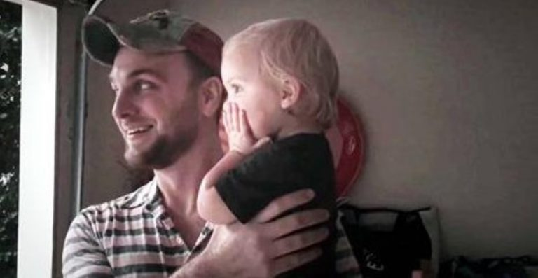 This Baby Starts Giggling At The Rain… What Her Daddy Does Next Will Melt Your Heart!