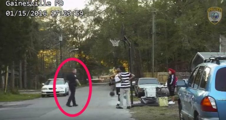 Dashcam Catches What This Cop Does While Responding To Noise Complaint About Kids