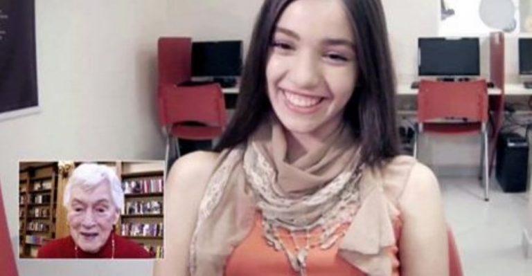 Brazilian Teens Learn English by Talking To Lonely Elderly Americans Online!
